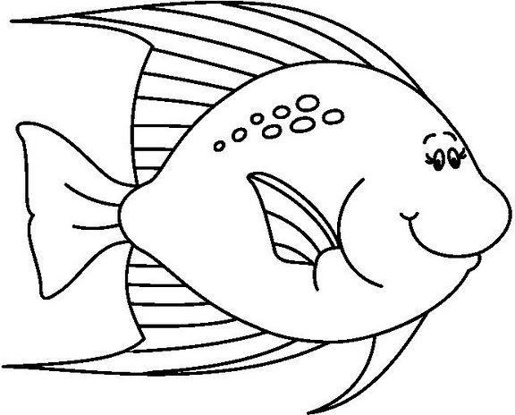 peces para colorear e imprimir - Buscar con Google | ler mar ...