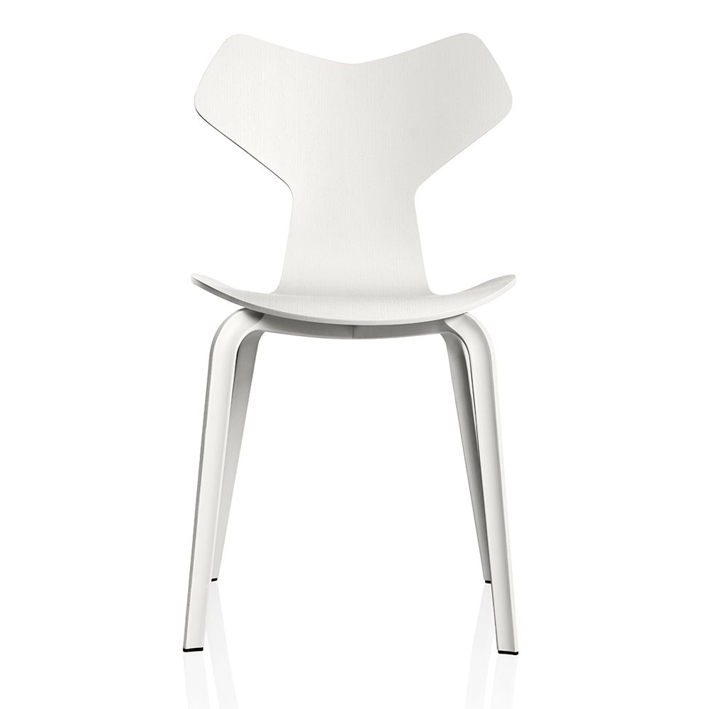 Grand Prix Dining Chair With Metal Legs | Grand Prix, Wood Molding And  Fritz Hansen