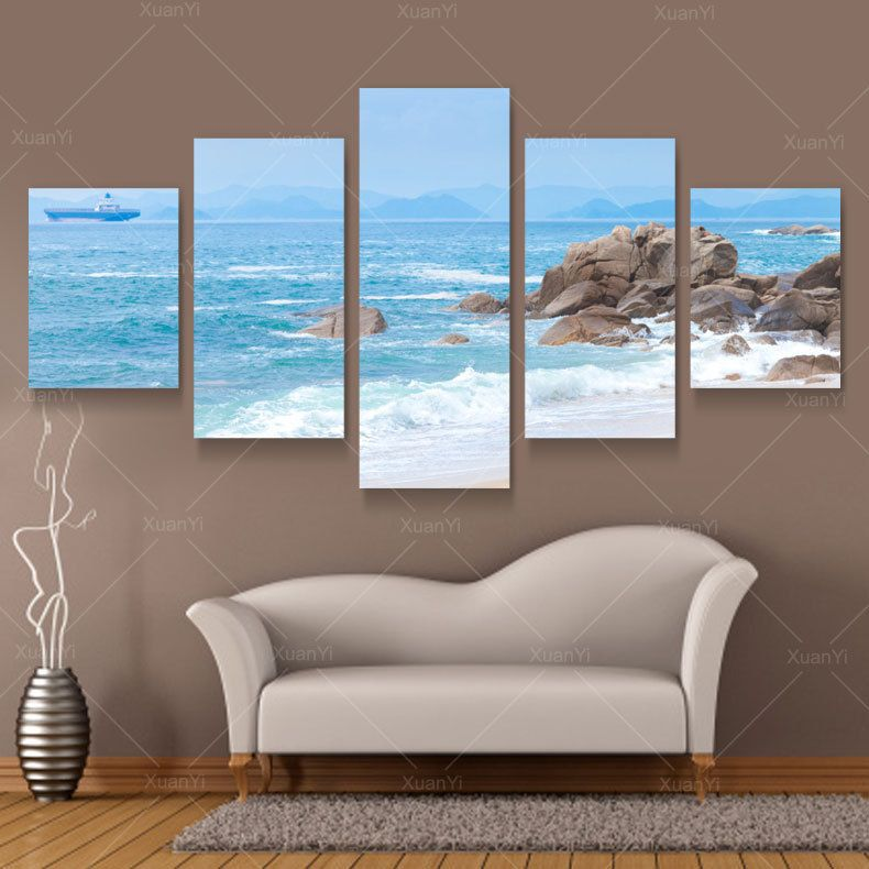 popular beach framed art buy cheap beach framed art lots from