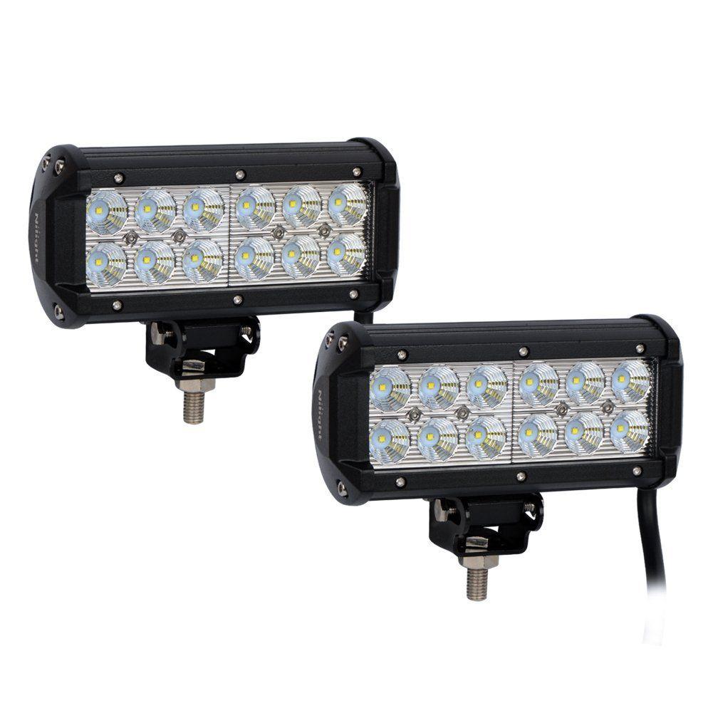 Rocker switch zombie lights led light bars amp off road lighting - Amazon Com Nilight 36w Led Flood Work Light Off Road Led Light Bar Super