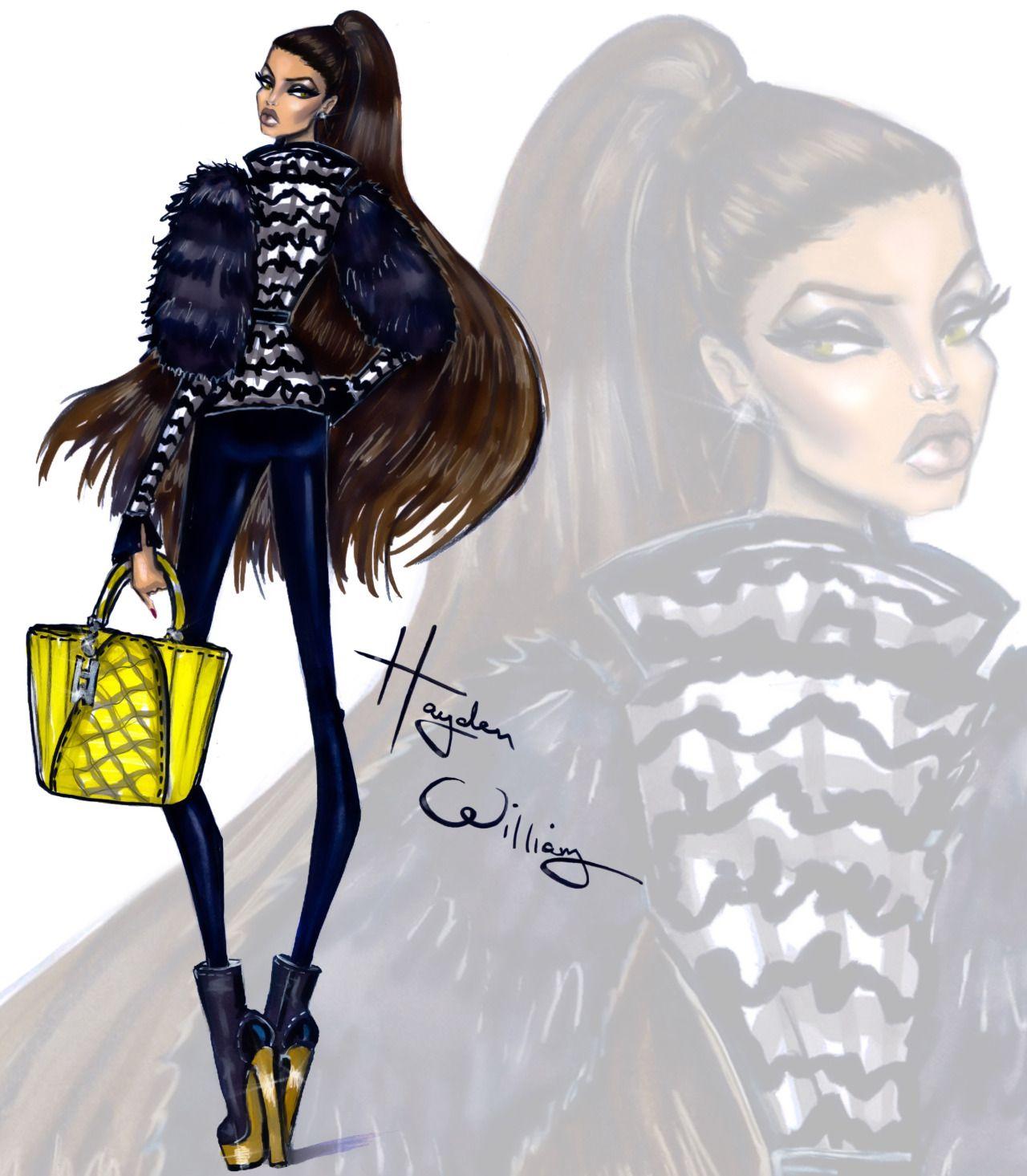 Hayden Williams Fashion Illustrations : Photo