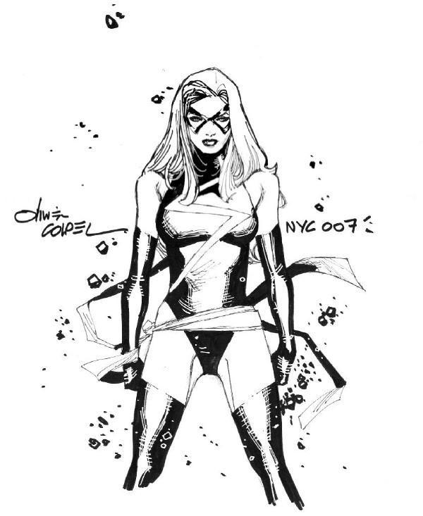Miss Marvel by Olivier Coipel