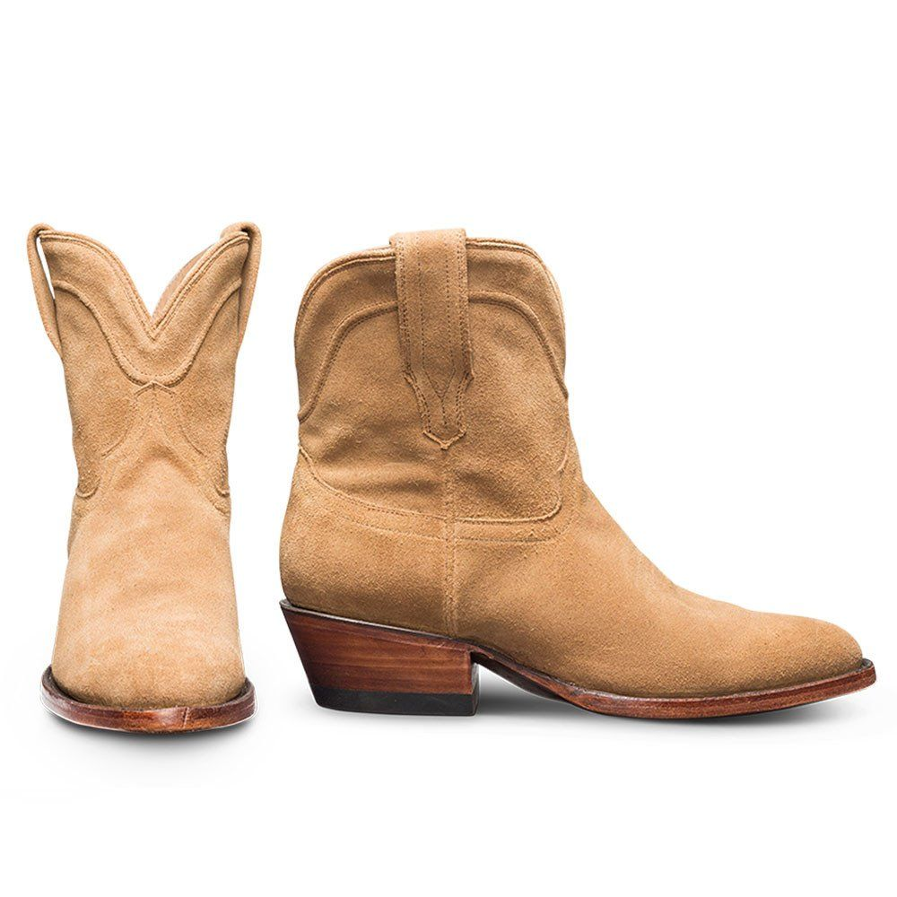 018f1f764a9 The Lucy   A Handmade, Waterproof Suede Western Bootie – Tecovas ...