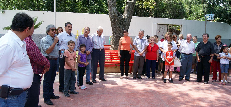 Con una inversión de casi cuatro millones de pesos, este espacio público elevará la calidad de vida de los vecinos