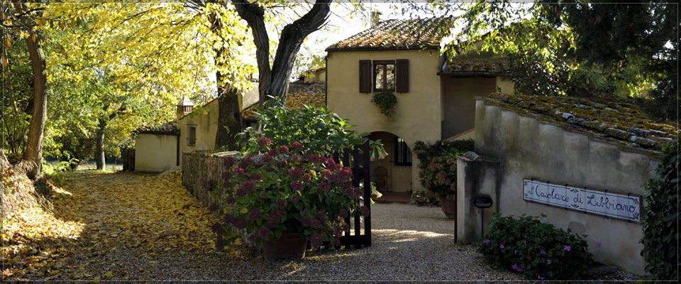 Il Casolare di Libbiano Tuscany An Agriturismo we stayed