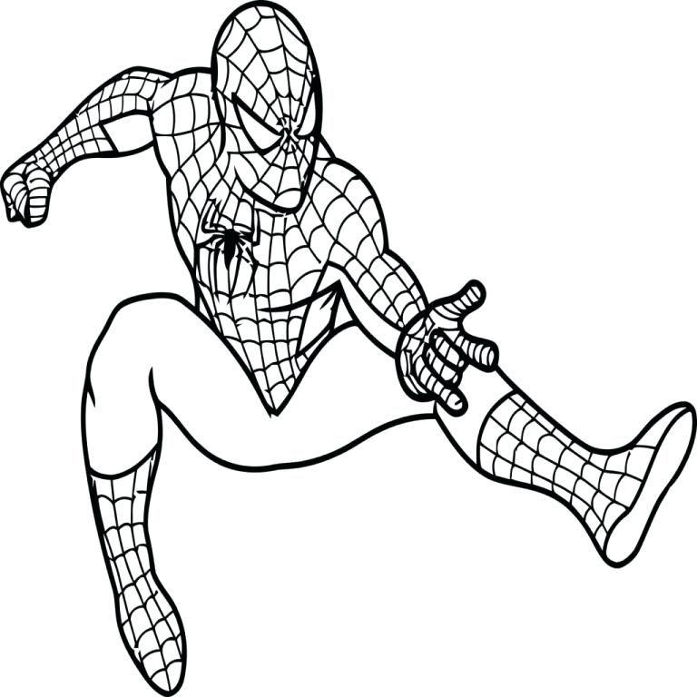 Spiderman Para Imprimir Para Colorear Spirman Para Y Spir Man