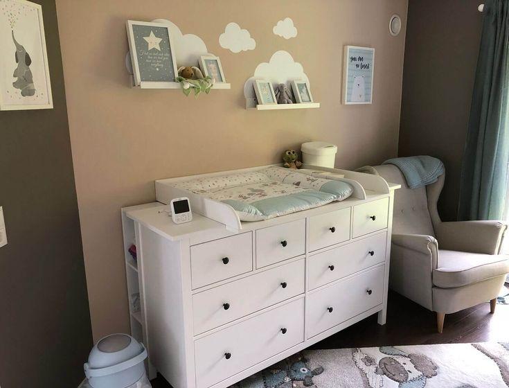 Wir haben IKEA Hemnes als Wickeltisch und als passenden ...   - Baby - #als #Baby #haben #HEMNES #Ik...