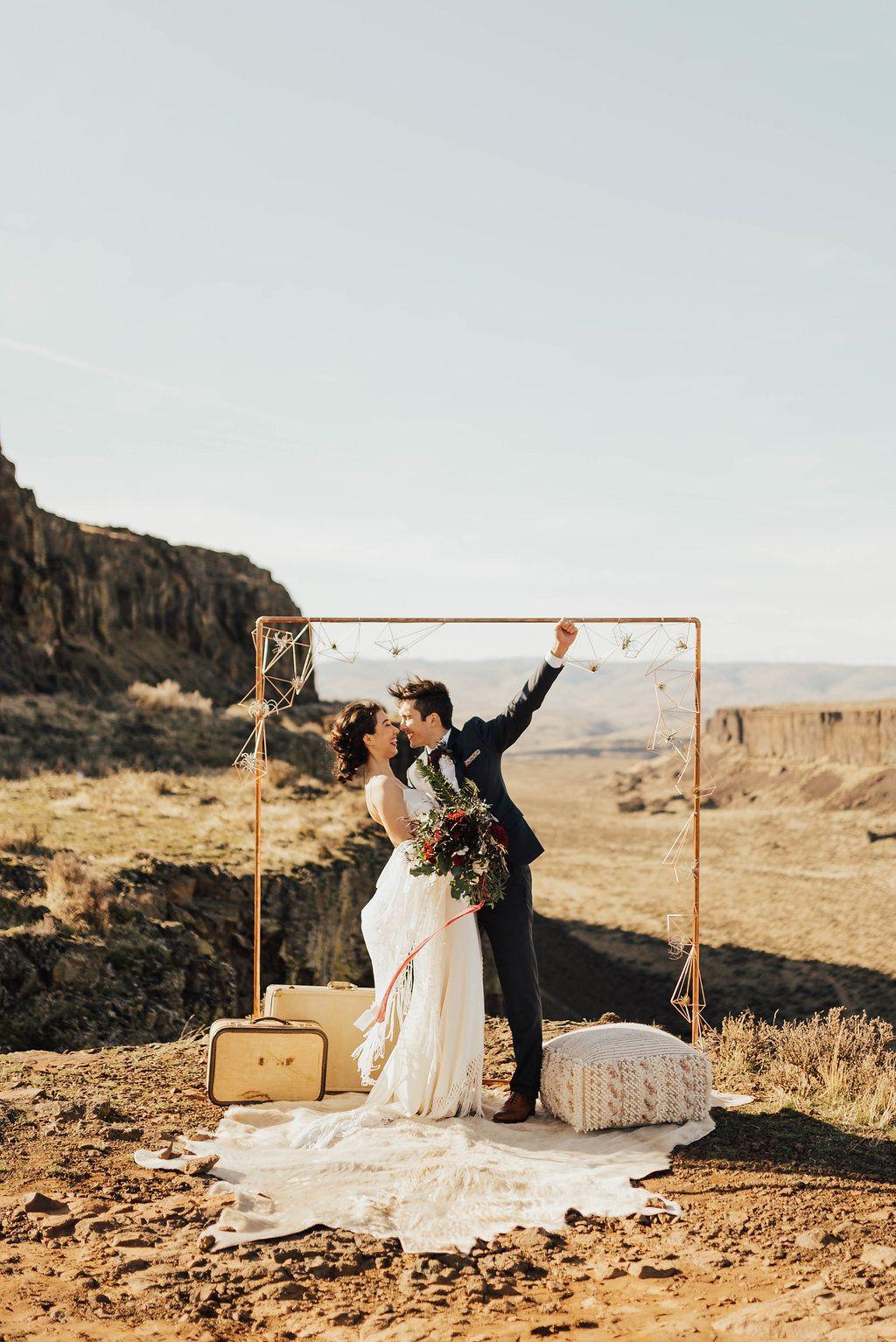 Bright sunny boho bridal inspo styled wedding shoots pinterest