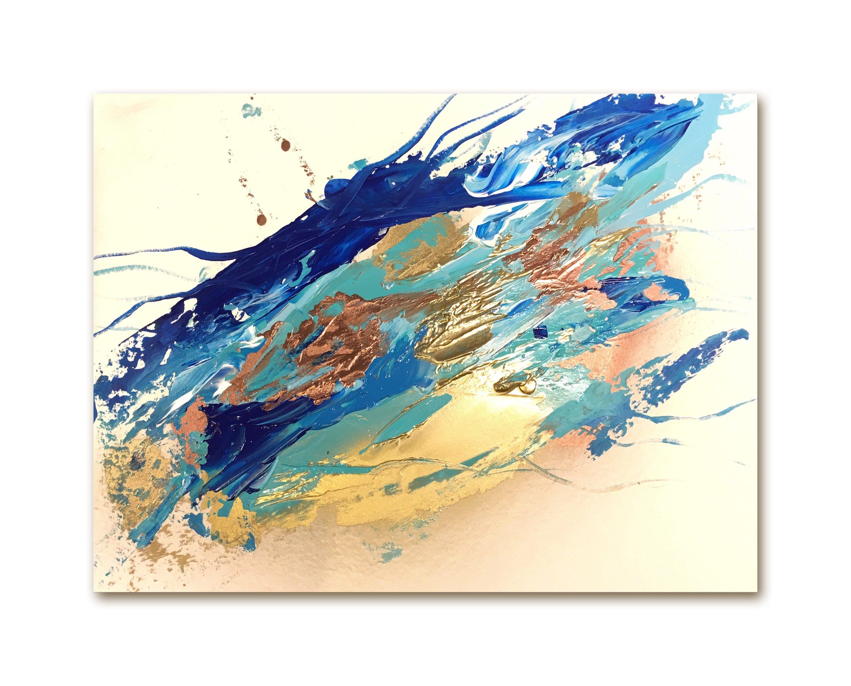 D Co Or Tableau Peinture Originale D Coration Cadre Dor