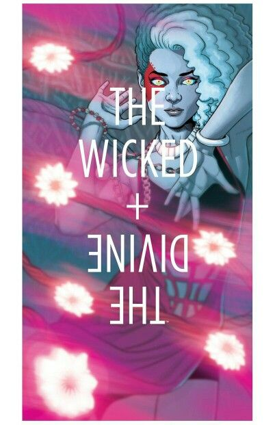 The Wicked + The Divine #18, Cover | Art by Jamie McKelvie and colors by Matt Wilson.