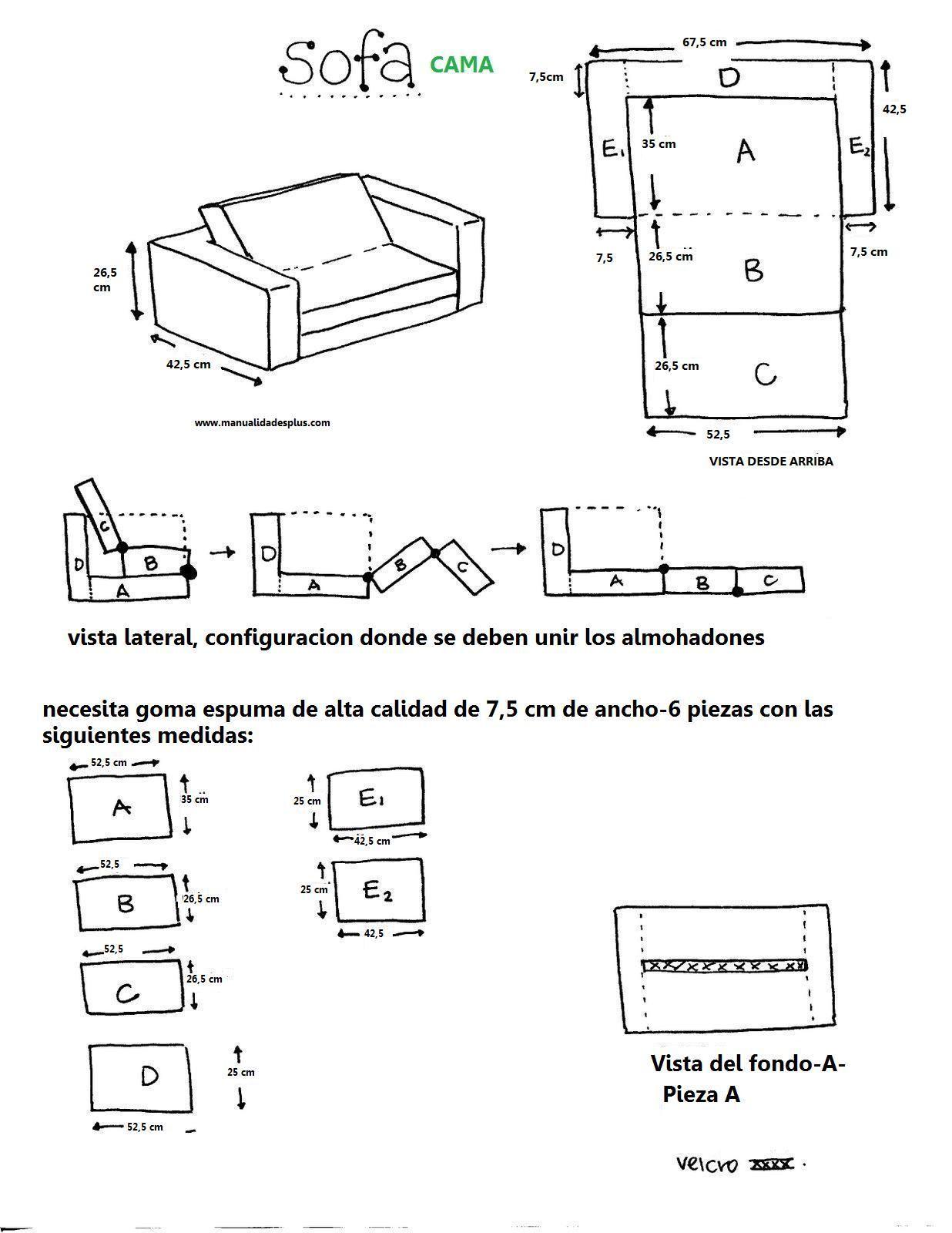 como hacer sofa cama para ni os dia del ni o creatividad
