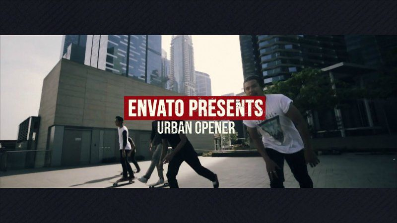 Videohive Dynamic Urban Opener » Free After Effects Templates ...