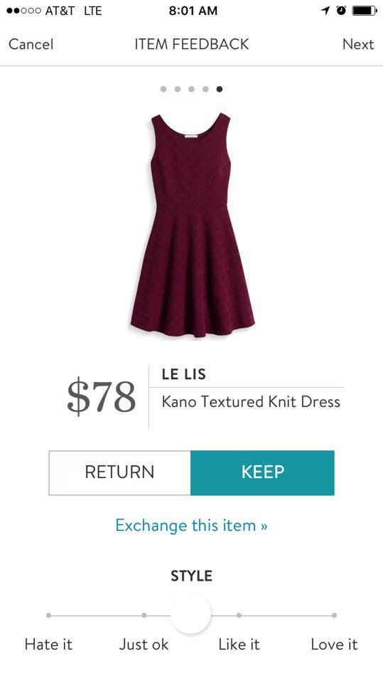 Quite Possibly The Perfect Fit And Flare Style Dress For
