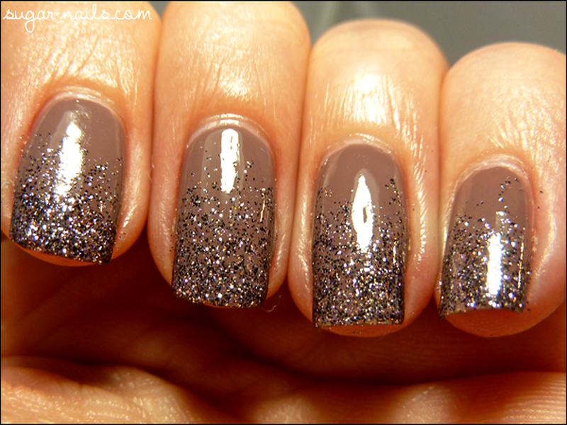 ombre glitter nail art | NAILS | Pinterest | Glitter nails and Ombre