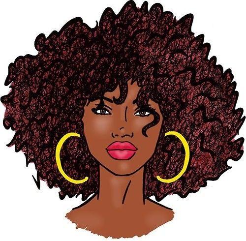 Natural Hair Cartoon Pictures Natural Hair Art Natural