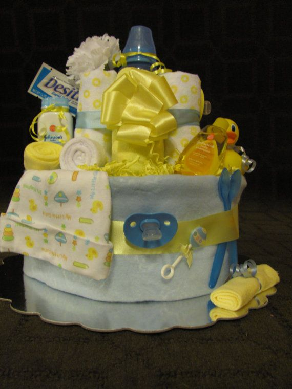bath time diaper cake unisex baby shower by elegantpartyplans baby. Black Bedroom Furniture Sets. Home Design Ideas