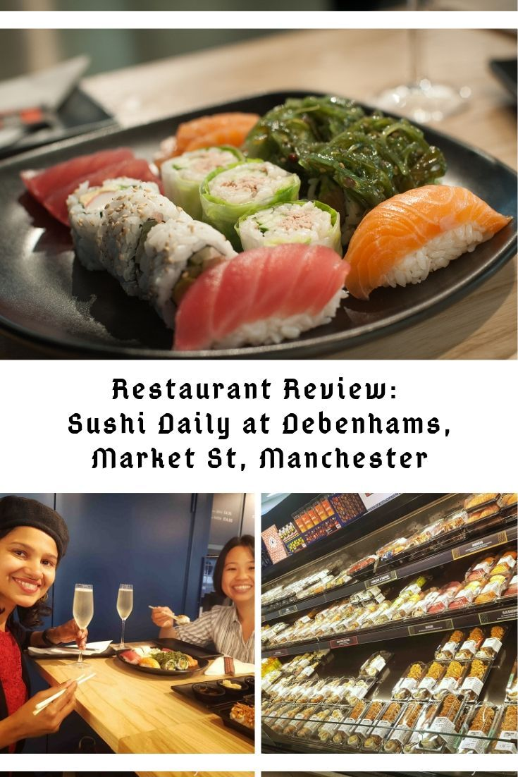 Restaurant Review Sushi Daily at Debenhams, Manchester