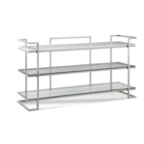 Vincente 3 Shelf Console Table In 2020 Console Table Modern