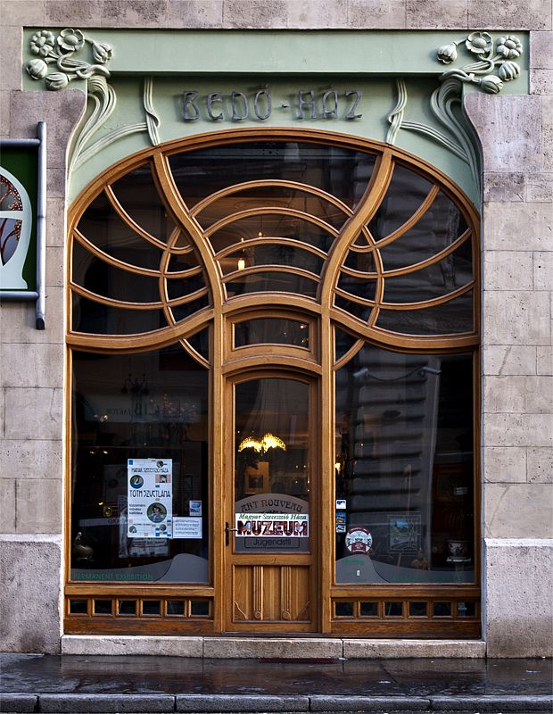 Art Deco delight (1903) -- Budapest | Manse | Pinterest | Budapest Art deco and Doors : manse doors - Pezcame.Com