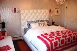 Schöne und niedliche moderne SchlafZimmerWand Farbe Design