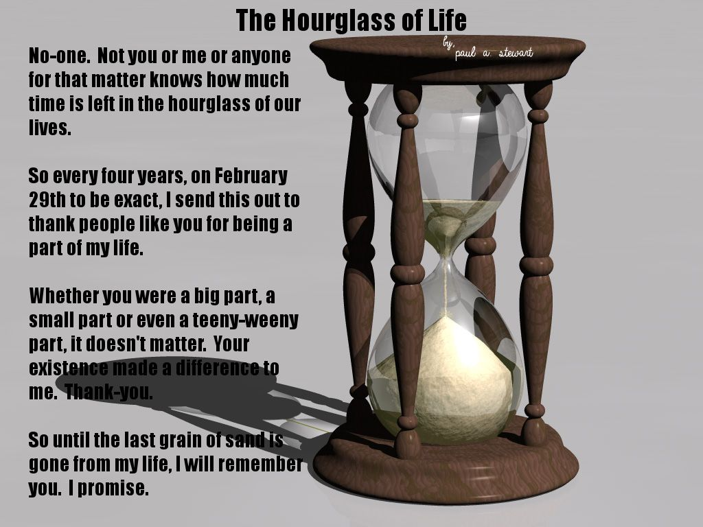 149f04551c The Hourglass of Life