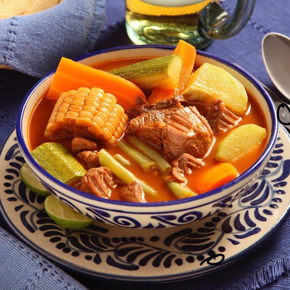 Rico Mole de Olla platillo insignia de la comida mexicana! Del Libro ...