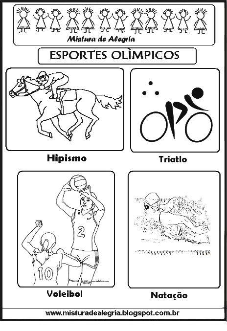 Esportes Olimpicos Para Imprimir Colorir 2810 29 Jpg 464 677