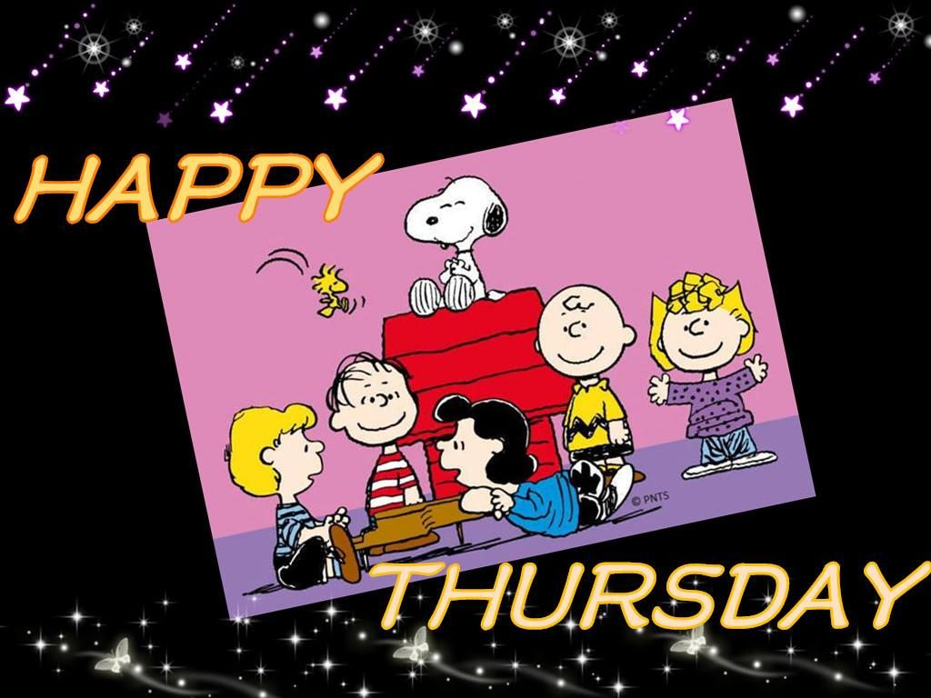 Happy Thursday With The Entire Peanuts Gang Including