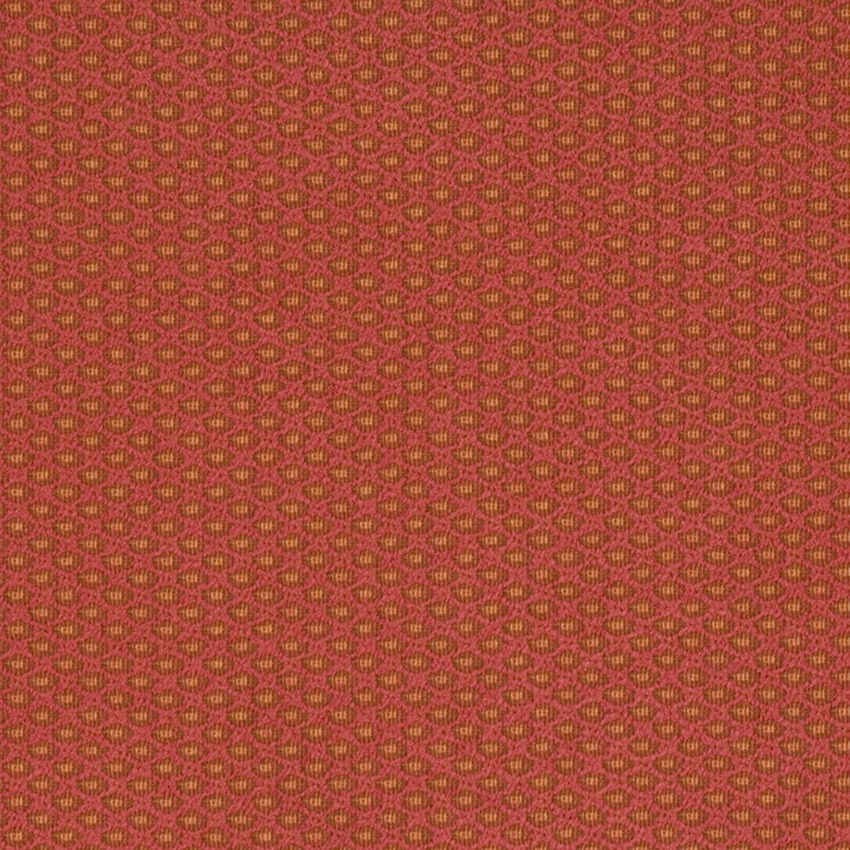 Azalea Orange Texture Plain Diamond Wovens Upholstery Decorative