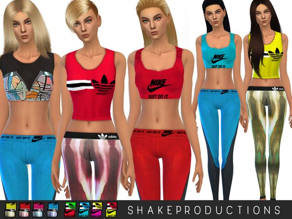 The Sims Resource: Sport set 13 by Shake Productions • Sims 4