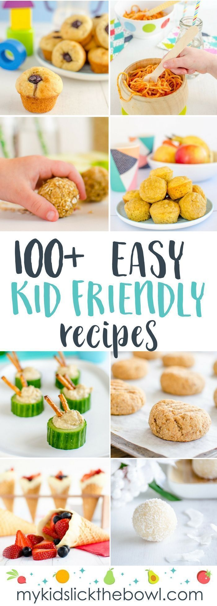 A great collection of kid-approved recipes! images
