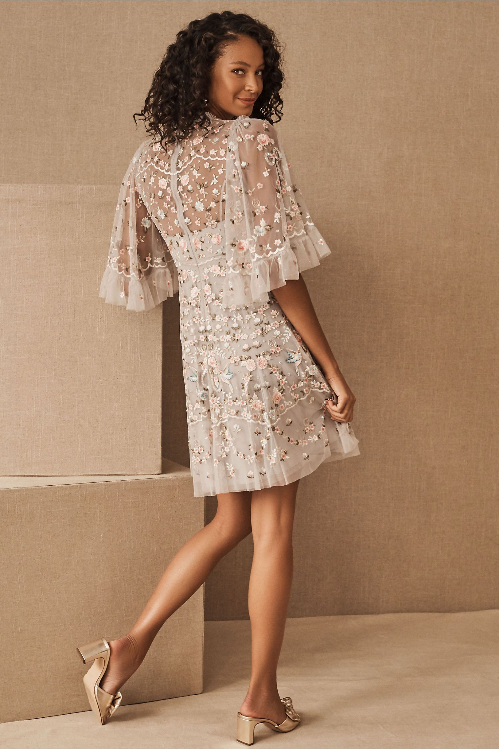 Needle Thread Regency Garden Mini Dress Engagement Party Dresses Mini Dress Dresses [ 2440 x 1625 Pixel ]