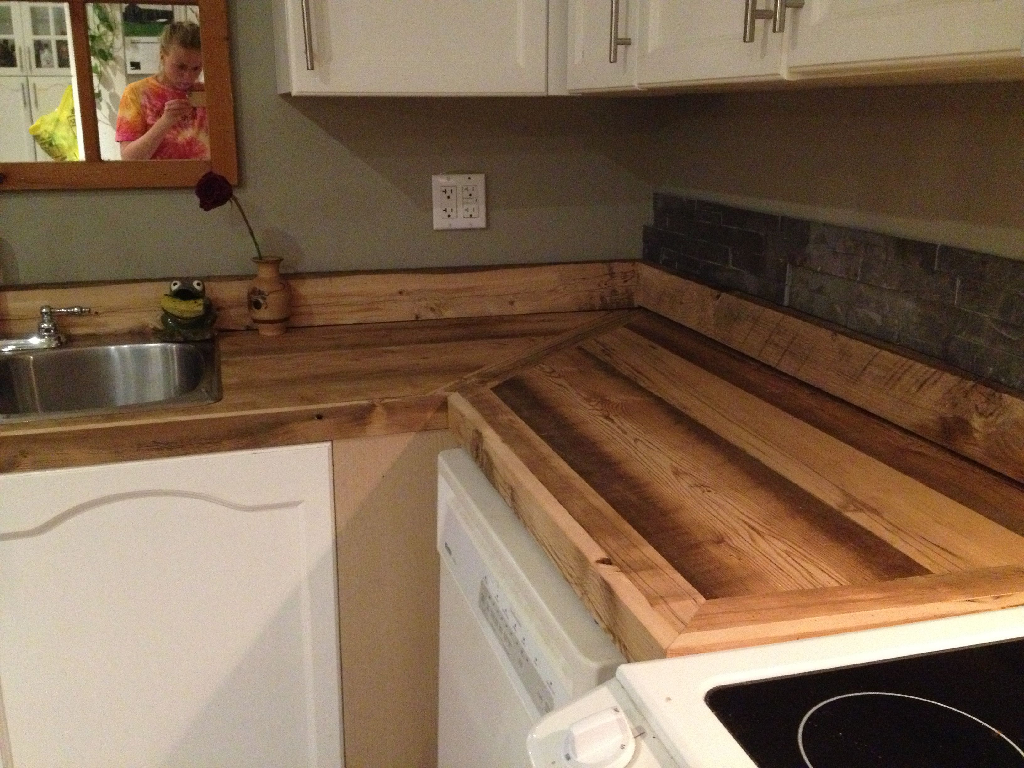 Barn Board Kitchen Cabinets Barn Board Countertops Rustic Barn Boards Wood