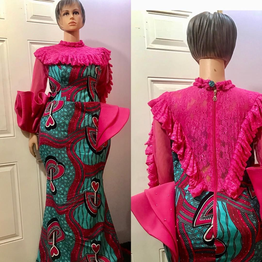 697adbd37b30b To order 👉+2349072722207 Instagram   houseofzichael Email   houseofzichael gmail.com African Women Latest 2018 Asoebi Ankara Lace  styles Outfits AVAILABLE ...