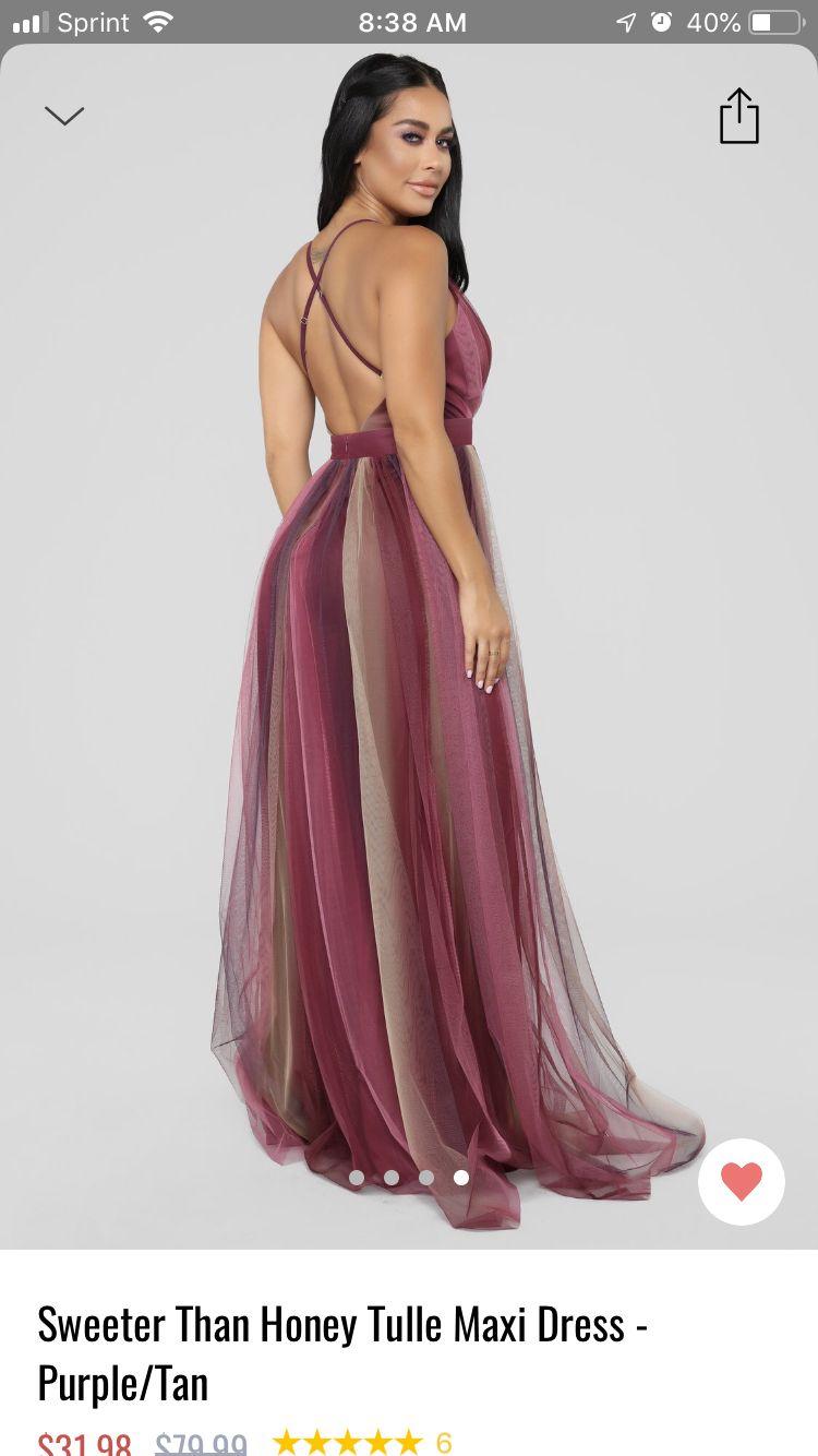 Sweeter Than Honey Tulle Maxi Dress Purple Tan Tulle Maxi Dress Purple Dress Maxi Dress [ 1334 x 750 Pixel ]