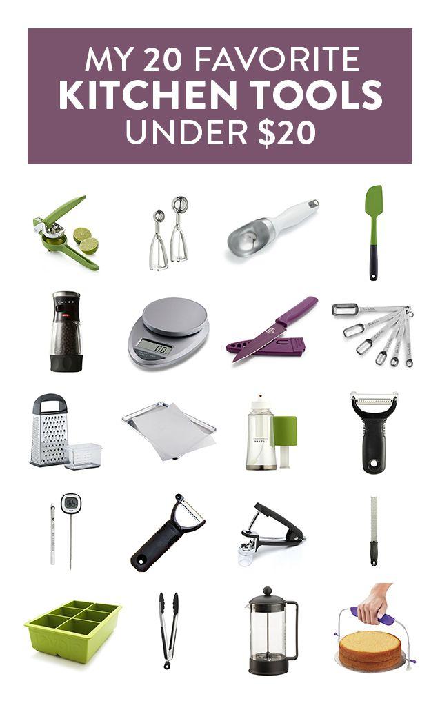 My Favorite 20 Kitchen Tools Under 20 Cooking Equipment Kitchen