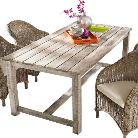 Gartentisch Lordi Pinienholz Outdoor Furniture Outdoor
