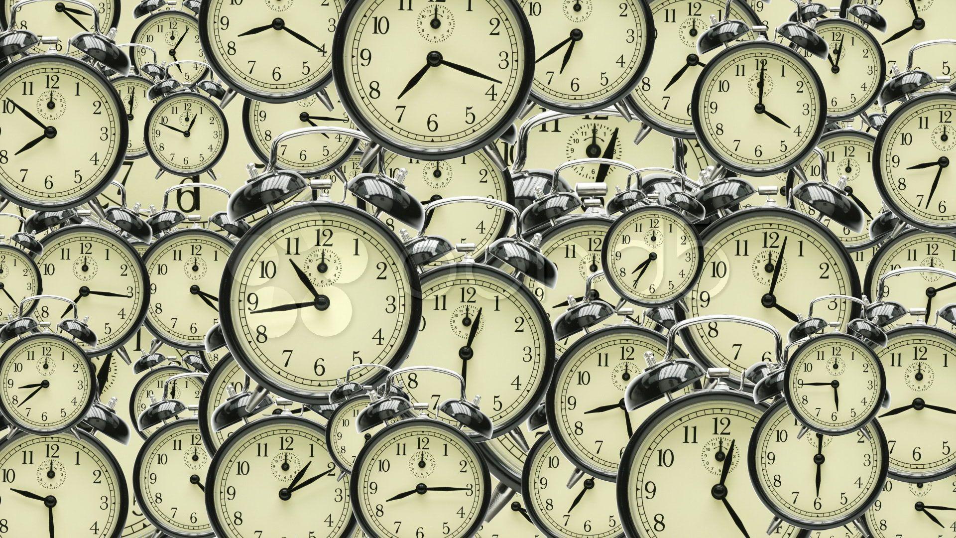 many many clocks stock