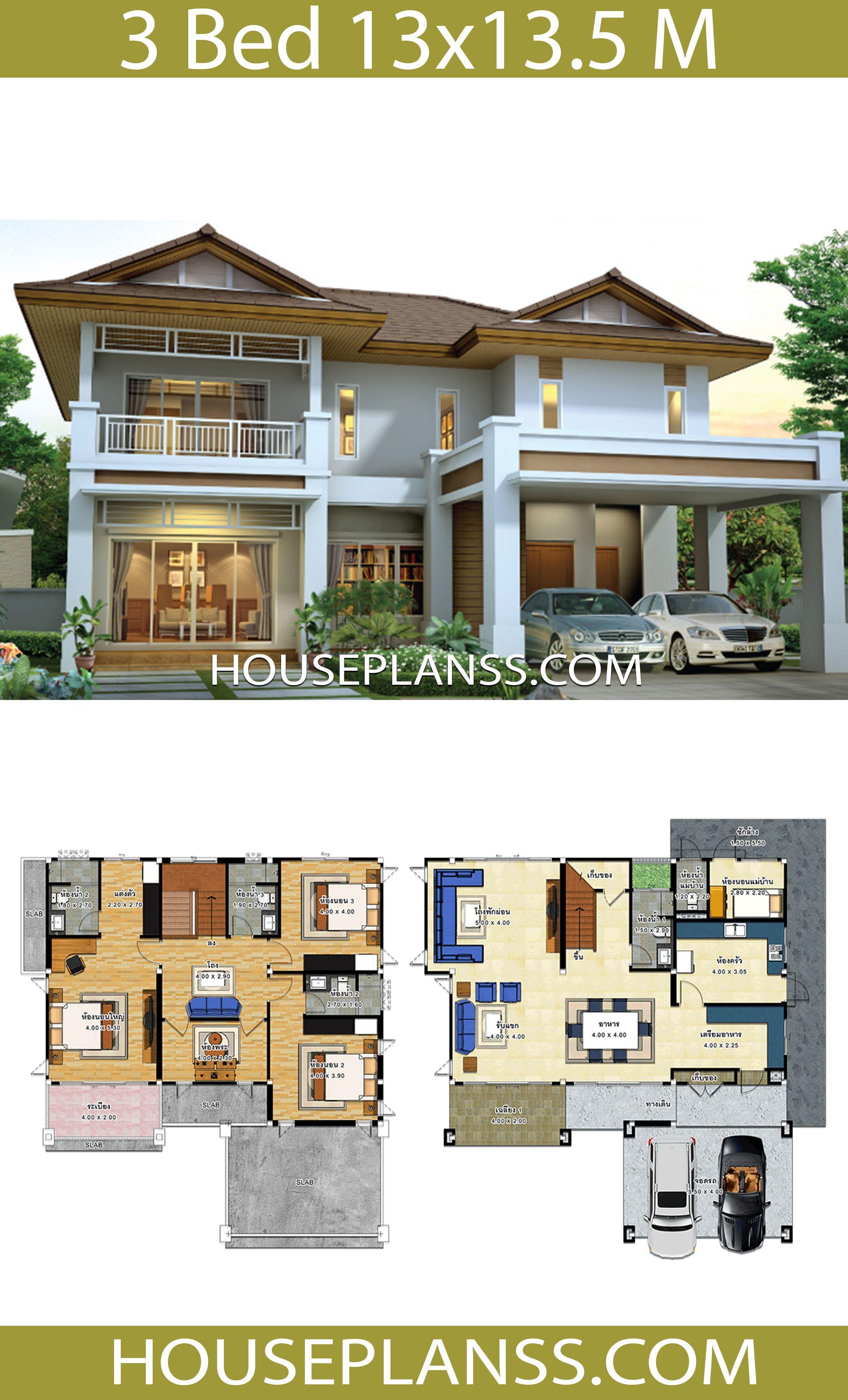 Pin Na Doske House Plans 3d
