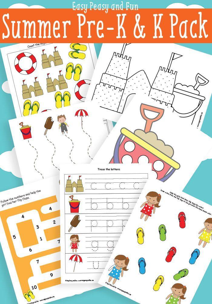 Summer Printables For Preschool Summer Preschool Themes Summer