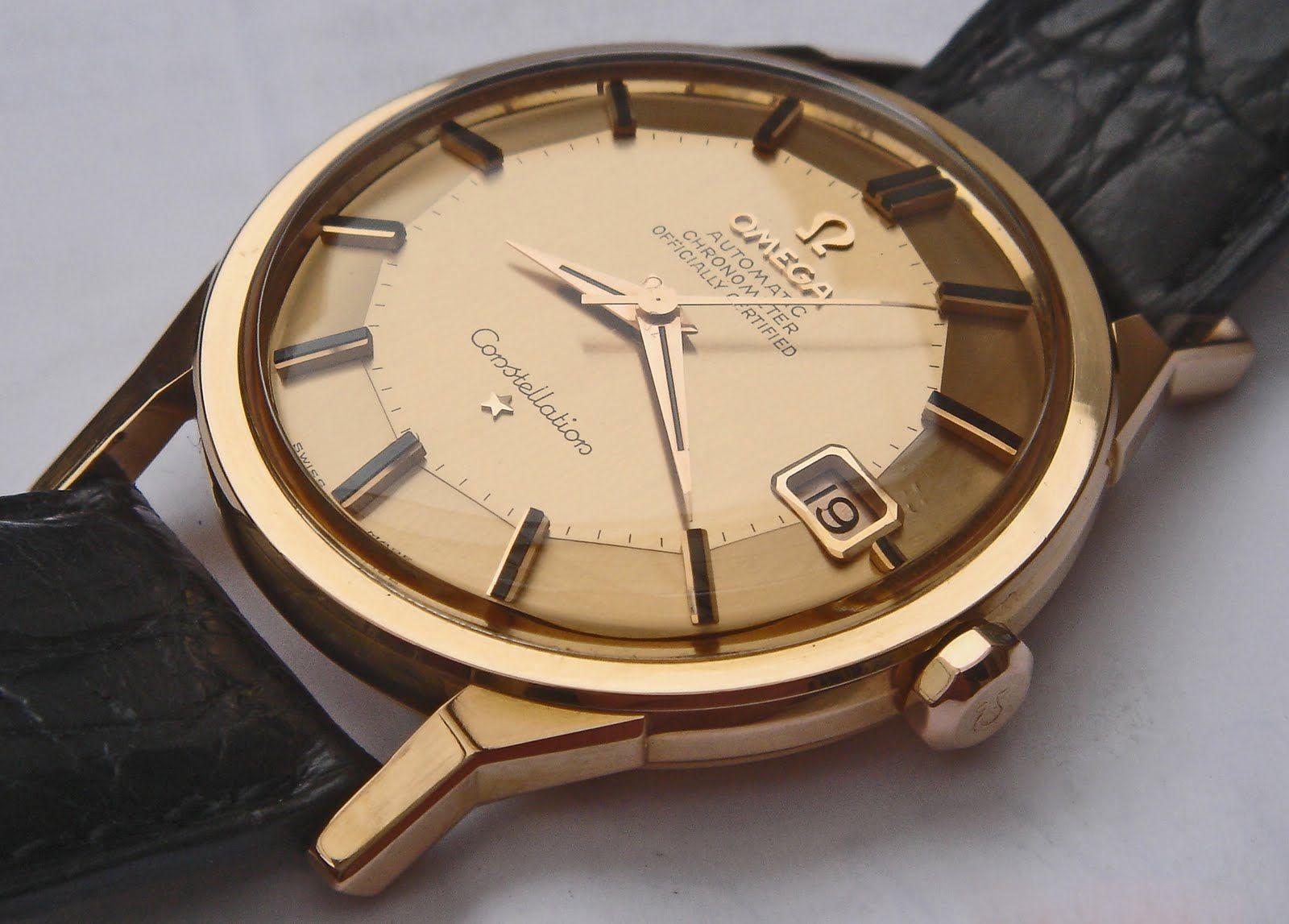 pin clock watch omega - photo #39