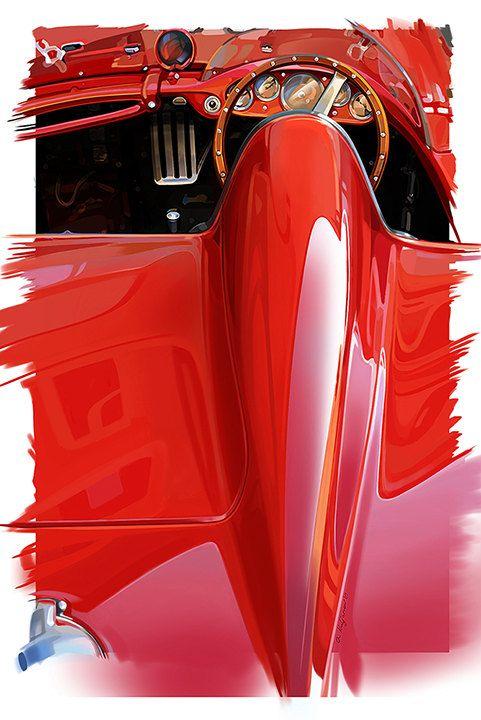 Mobile Car Painting : mobile, painting, Painting, Alikhan, Kuljanov, Automotive, Racing, Artwork