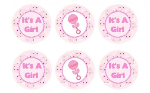 Free Printable Baby Shower Cupcake Toppers Baby Shower Cupcake Toppers Baby Shower Cupcakes Baby Shower Cookies