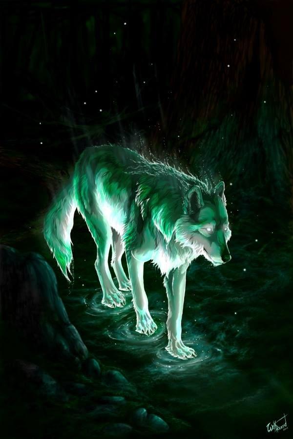 Wolf Spirit Fantasy Wolf Anime Wolf Fantasy Art