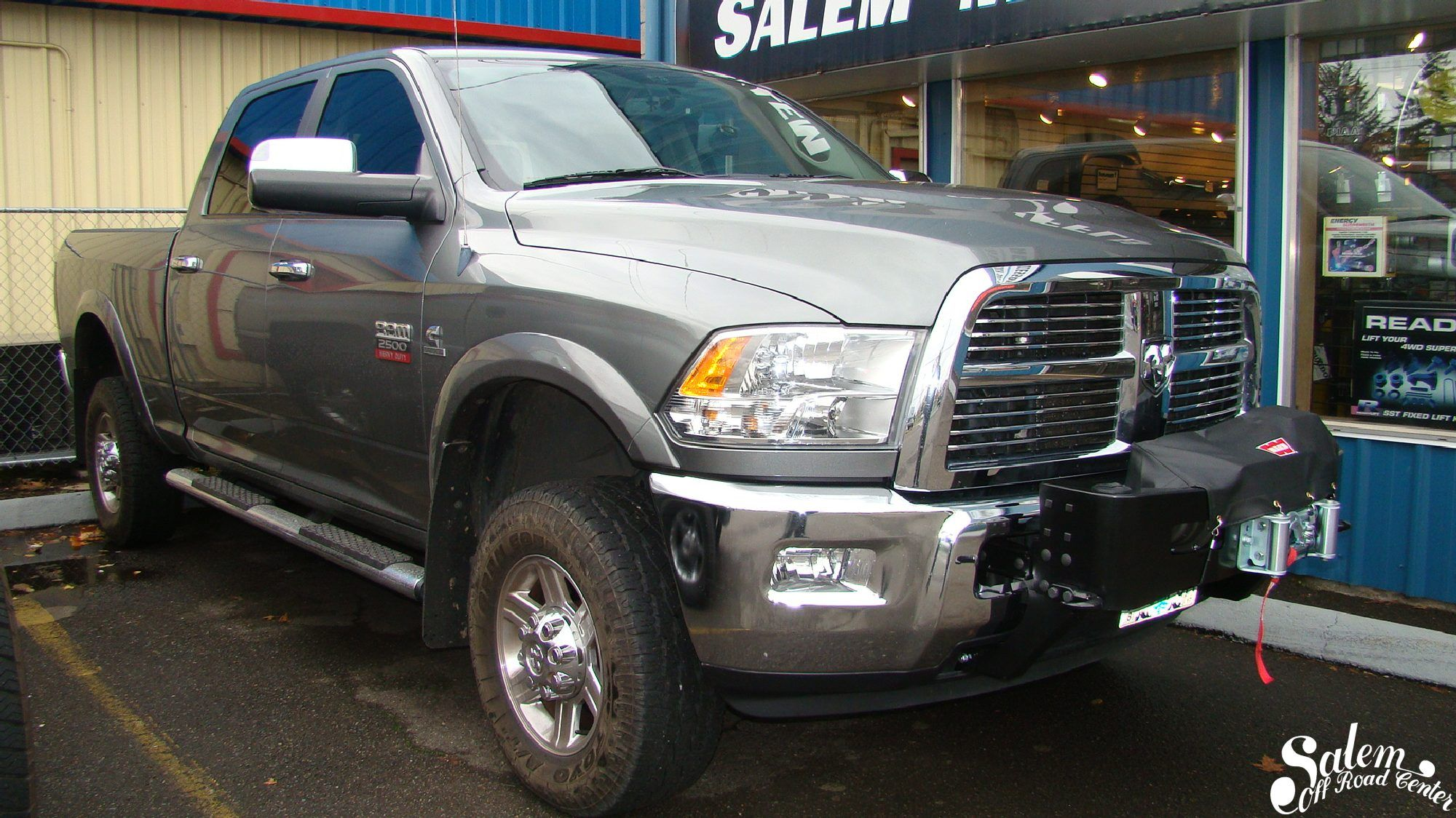 hight resolution of on this 2011 ram 2500 we installed a warn transformer gen 2 mount with an m12000 winch www salemoffroadcenter com
