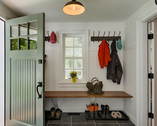 easy mudroom bench do it yourself another best mudroom design ideas for farmhouse entry with - Mudroom Design Ideas
