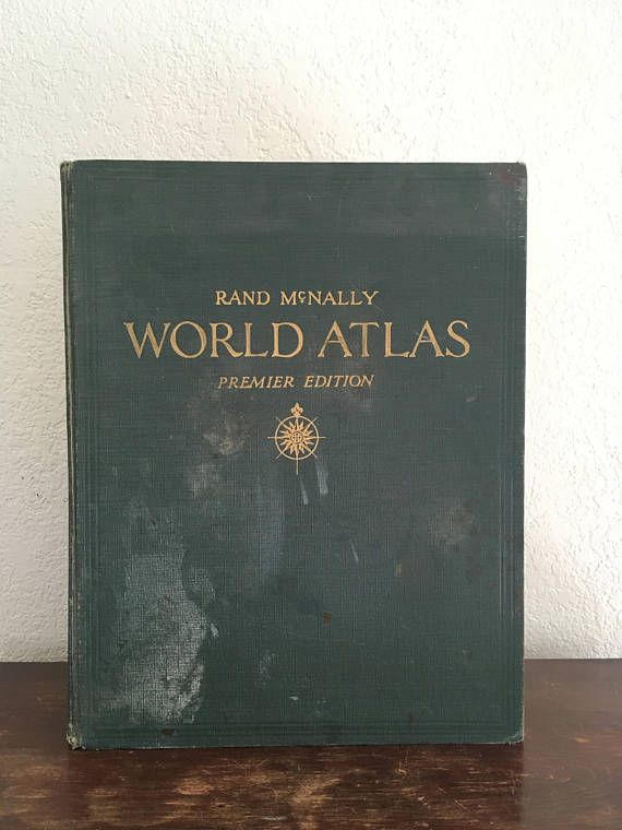 1941 rand mcnally world atlas premier edition large world atlas 1941 rand mcnally world atlas premier edition large world atlas book printed in usa hardcover atlas colorful map prints with large index gumiabroncs Image collections