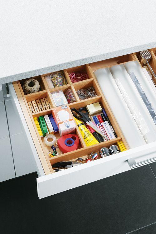Stauraumideen Fur Ihre Kuche Schubladen Organisieren Kuche Aufbewahrung Ideen Schubladeneinsatz Kuche