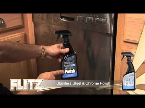 flitz stainless steel and chrome polish makes your stainless steel appliances shine like new while protecting - Non Stainless Steel Appliances