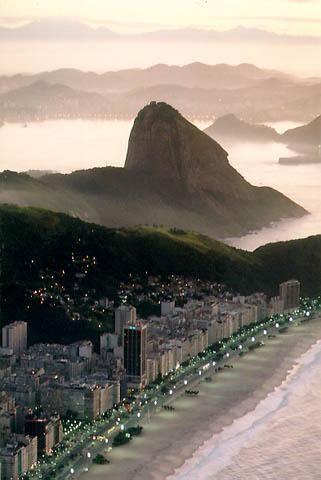 Copacabana Playa ~ Río de Janeiro
